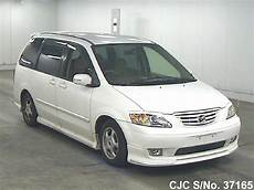 how to sell used cars 2000 mazda mpv navigation system 2000 mazda mpv white for sale stock no 37165 japanese used cars exporter