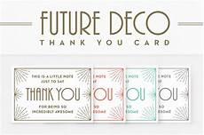 thank you card to template futuredeco thank you card card templates creative market