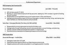 how to write the resume work experience section 7 tips for writing the experience section of