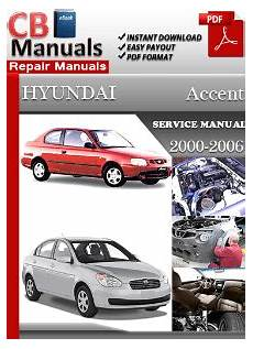 small engine service manuals 2001 hyundai accent electronic toll collection hyundai accent 2000 2006 service manual free download service repair manuals