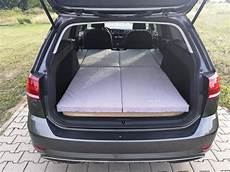 golf 7 kofferraumvolumen sleeping in the vw golf variant