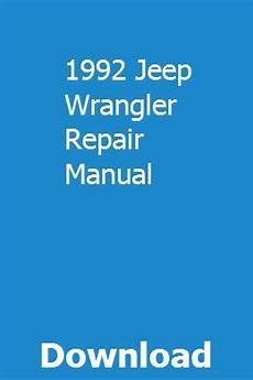 small engine repair manuals free download 1992 gmc rally wagon 1500 security system 1992 jeep wrangler repair manual pdf download full online repair manuals yamaha wolverine