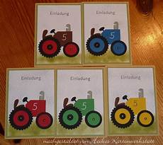 kindergeburtstag basteln einladungskarten