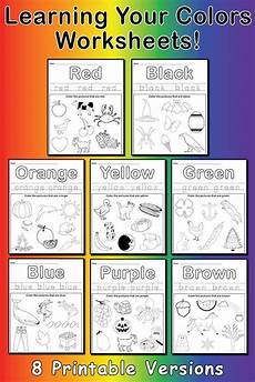 learn worksheets free 19353 learning your colors 8 printable color worksheets supplyme