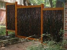 simple minimalist bamboo fence pictures gallery 4 home ideas