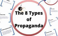 the 8 types of propaganda by rodriguez