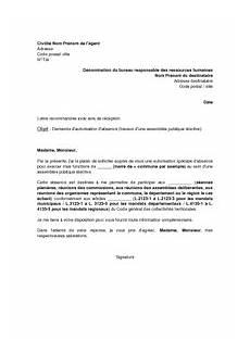 Exemple De Lettre De D 233 Mission Fonction Publique