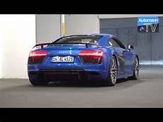 2017 audi r8 v10 plus 610hp sound 60fps