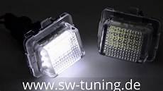 led kennzeichenbeleuchtung w204 s204 w212 w221