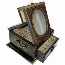 boite 224 bijoux avec miroir ovale magasin du meuble