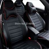 Carnong Car Seat Cover Pu Leather Proper Fit For VW Caddy