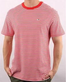hilfiger classic stripe t shirt white 80s