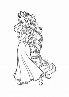 Ausmalbilder Rapunzel Malvorlagen Pdf Ausmalbilder Rapunzel Mit Geflochtenem Zopf Rapunzel