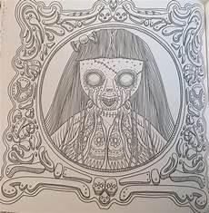 Ausmalbilder Erwachsene Horror Horror Erwachsene Malvorlage Coloring And Malvorlagan
