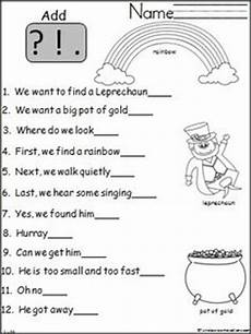s day worksheets grade 1 20359 worksheets for 2nd grade free end punctuation worksheet school stuff