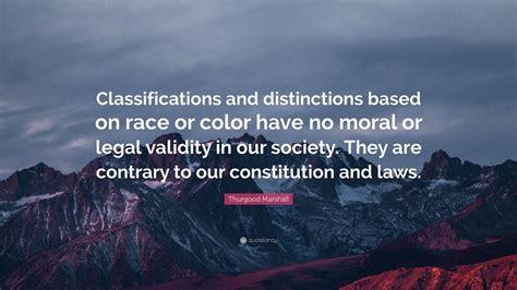 Moral Distinction