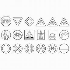 Malvorlagen Verkehrsschilder Quadratisch Verkehrszeichen Zum Ausmalen 50 Ausmalbilder