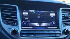 Hyundai Tucson Navigation - 2016 hyundai tucson unavi navigation system overview