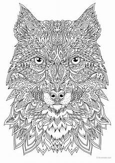 wolf printable coloring page from favoreads