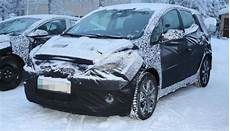 2015 Hyundai Ix20 Facelift Interior Spied For The
