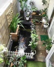 Gambar Ide Desain Taman Rumah Minimalis Dengan Kolam Ikan