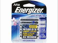 energizer ultimate lithium aa rechargeable