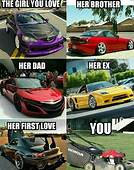 Pin By Kathrine On Cars And Mechanics  Funny Car Memes