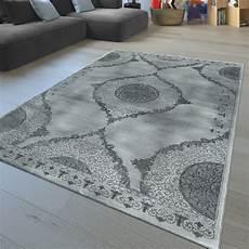 teppich kurzflor grau kurzflor teppich florales muster grau teppichmax