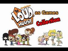 The Loud House Characters As Games Collection