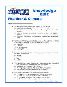 worksheets on weather and climate for grade 5 14645 weather climate knowledge quiz worksheet for 5th 7th grade lesson planet