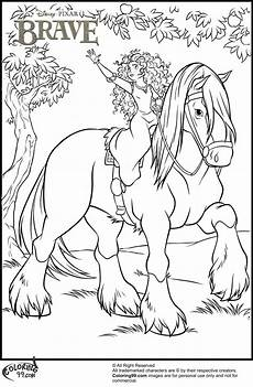 Malvorlage Prinzessin Und Pferd Disney Princess Merida Coloring Pages Minister Coloring