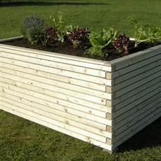 Hochbeet Holz Bausatz - hochbeet zum selberbauen aus l 228 rchenholz roh oder