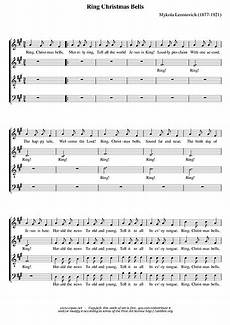 carol of the bells satb sheet music cantorion free
