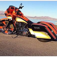 interesting color scheme harley davidson motorcycles road glides bagger motorcycle