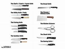 Different Types Of Kitchen Knives Different Types Of Kitchen Knives And What They Re Used