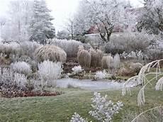 Gräser Im Winter - staudengarten gross potrems gartenrundgang im winter