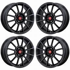 17 quot fiat 500 abarth black chrome wheels rims factory oem