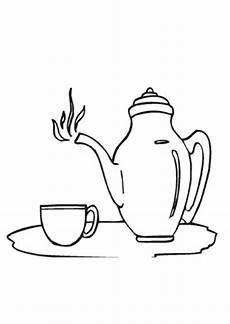 Malvorlagen Tassen Kostenlos Ausmalbild Teekanne Und Tasse Kostenlos Ausdrucken