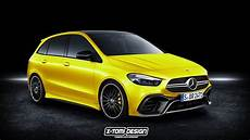 New Mercedes B Class Doesn T Look Half Bad In Amg 35