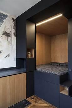 Lit Dans Petit Espace Chambres Petit Appartement