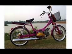 Modifikasi Sepeda by Modifikasi Motor Jadi Sepeda Unik