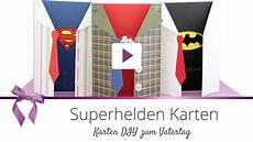 Diy Superhelden Karte Vatertag Danato