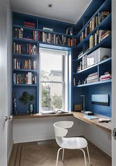 a bright home with lots of storage friendly 25 blue home office designs that inspire digsdigs