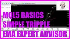 Mql5 Tutorial Basics 72 Simple Tripple Ema