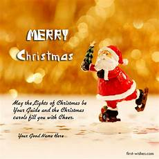 merry christmas wishes with name photos first wishes