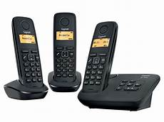 telephone fixe avec repondeur t 233 l 233 phone fixe sans fil trio avec r 233 pondeur gigaset al120a