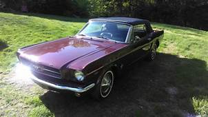 5FO8C674716  1965 Mustang Convertible 289 Auto Vintage