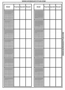 introducing decimals worksheets 7174 convert between percents fractions and decimals 8 worksheets printable worksheets