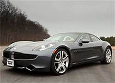 Fisker Karma Electric Car Recalled Due To Possible Coolant