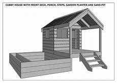 build your own cubby house plans cubby house sand pit combo build with your children